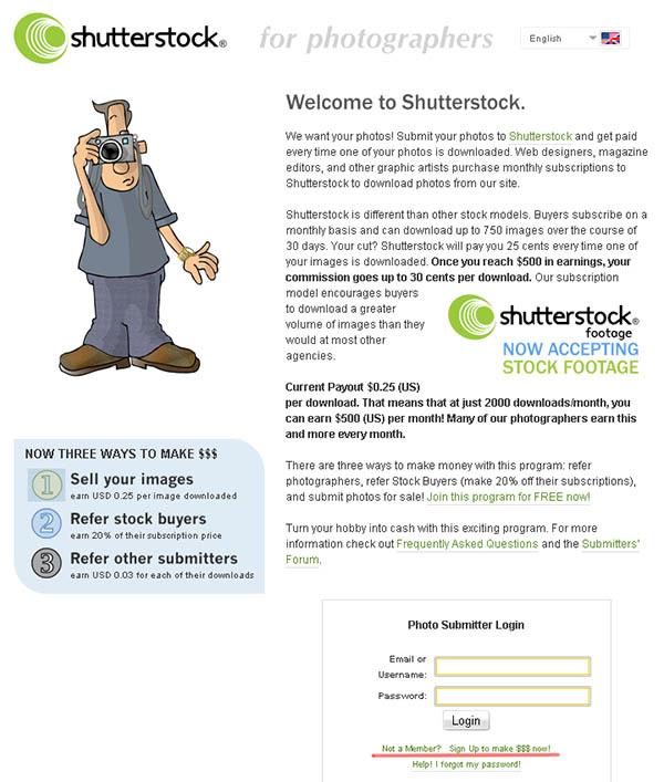 shutterstock.com Регистрация на Shutterstoсk