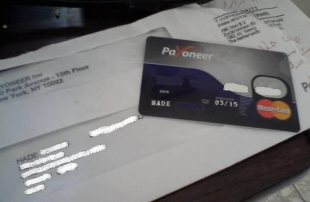карты payoneer