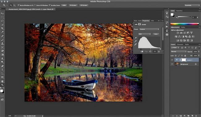 как сделать винтажное фото в Photoshop шаг 1