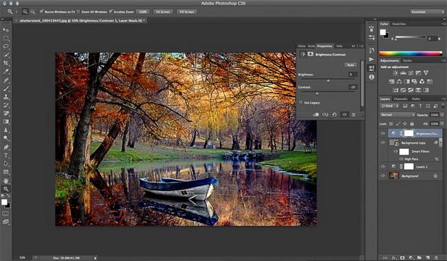 как сделать винтажную фотографию в Photoshop шаг 4