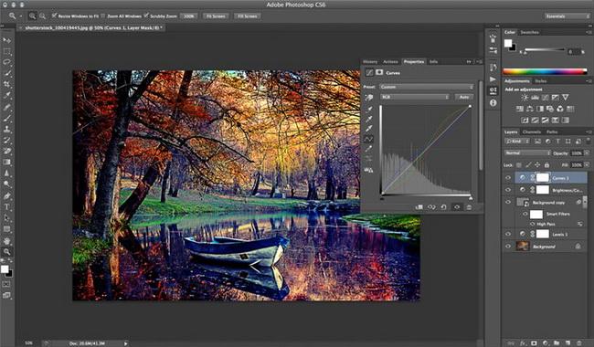 как сделать винтажную фотографию в Photoshop шаг 5