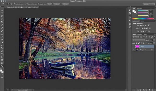 как сделать винтажное фото в фотошопе шаг 9