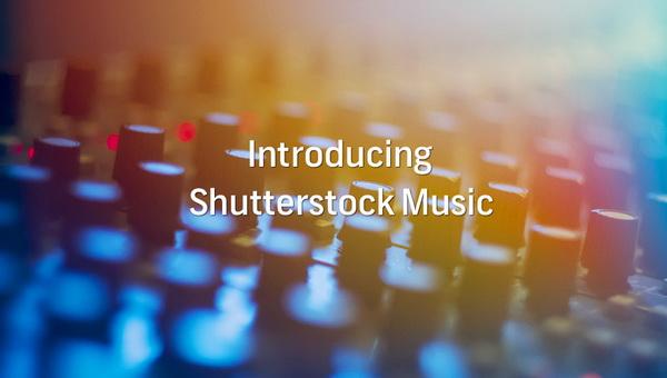 Музыка на Shutterstock