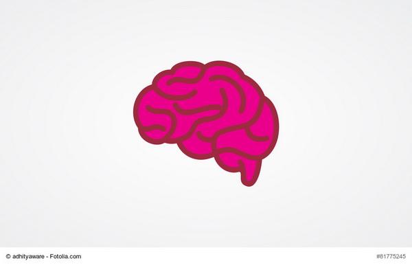 Плоский дизайн мозга