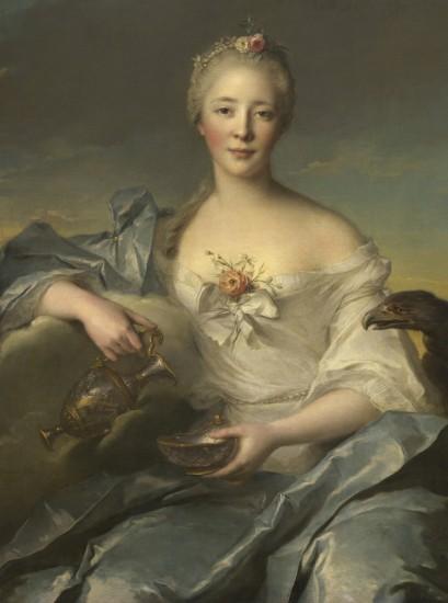 портрет девушки в стиле рококо